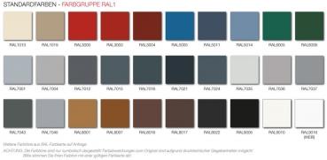 Wandfarben alpina palette